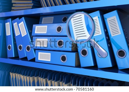 Search information - stock photo