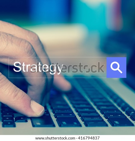 SEARCH WEBSITE INTERNET SEARCHING Strategy CONCEPT - stock photo