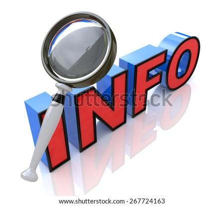 Searching for information  - stock photo