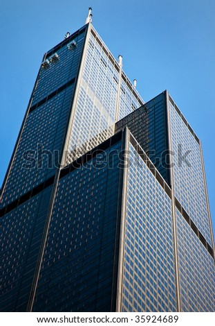 Sears Tower - stock photo