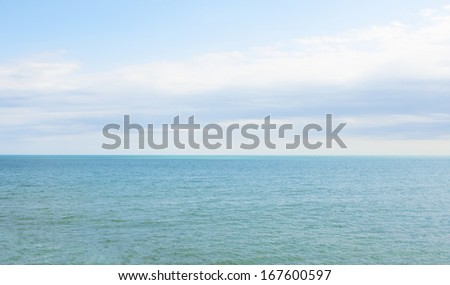 Seascape - stock photo