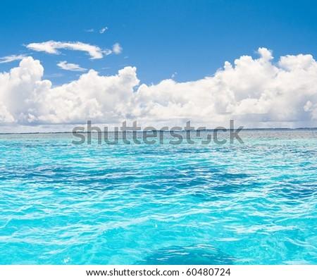Seascape Divine - stock photo