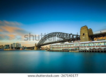 Seascape in Sydney. - stock photo