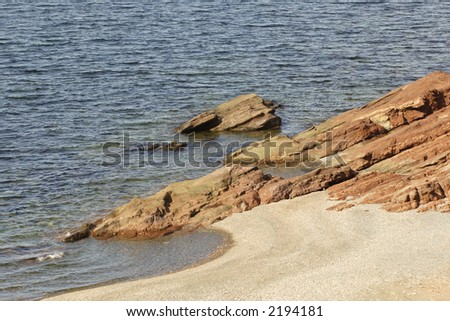 seascape, Nova Scotia, Canada - stock photo