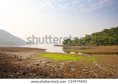 Seascapes in Hongkong - stock photo