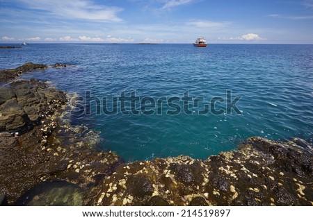 seaside & ocean & beach - stock photo