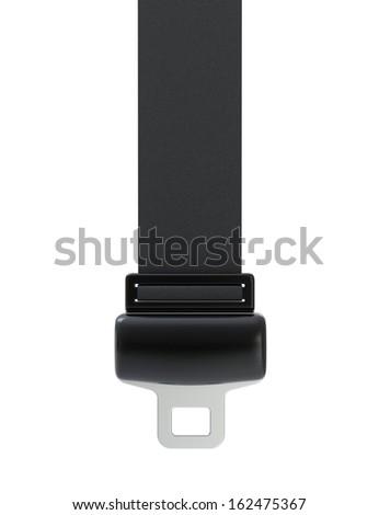 Seat Belt - stock photo