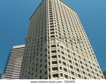 seattle building - stock photo