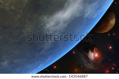 Second Earth - stock photo