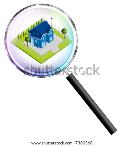 Secure home - stock photo