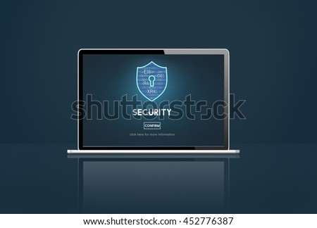 Security Firewall Protection Immunity Concept - stock photo