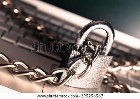 Security, Security System, Data. - stock photo