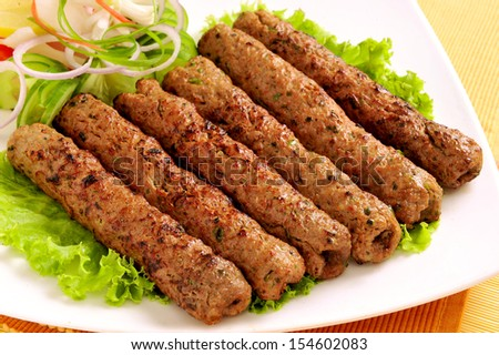 Seekh Kabab-12 - stock photo
