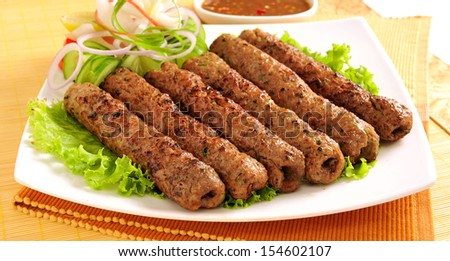 Seekh Kabab-2 - stock photo