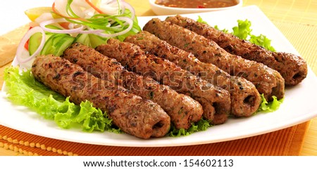 Seekh Kabab-6 - stock photo
