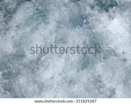 seething water       - stock photo