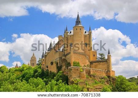 Segovia Alcazar - stock photo