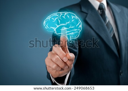 Select creativity for your business, business vision and headhunter concepts. - stock photo