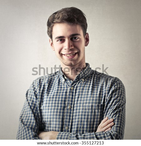 Self confidence - stock photo