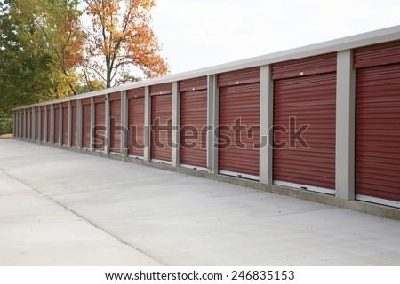 Self Storage facility - stock photo