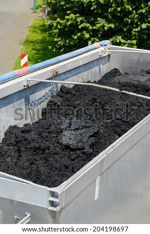 Semitrailer - stock photo