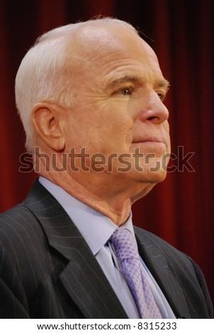 Senator John McCain - stock photo