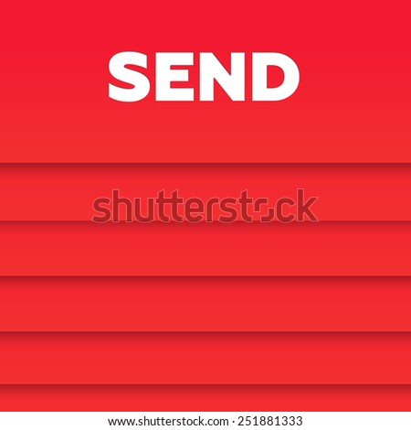 SEND - stock photo