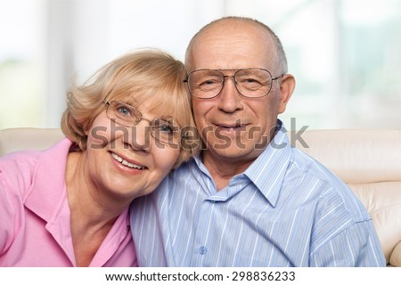 Senior Adult, Couple, Old. - stock photo