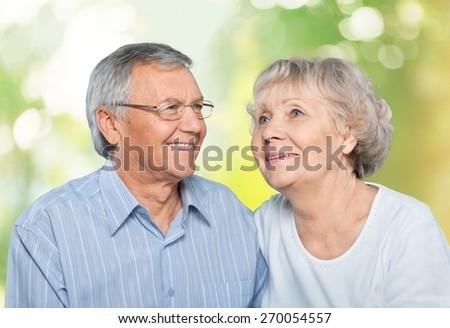 Senior Adult, Family, Cheerful. - stock photo