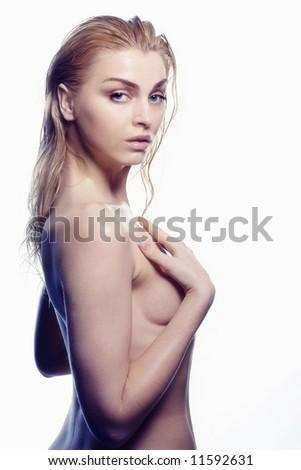 sensuality women - stock photo