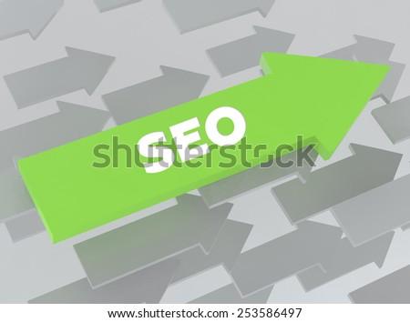 SEO - stock photo