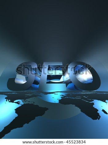 SEO 3 - stock photo