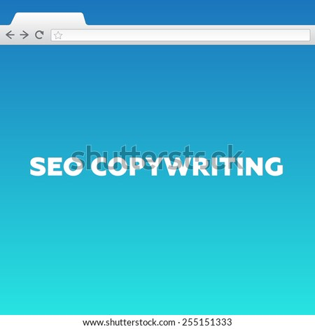 SEO COPYWRITING - stock photo