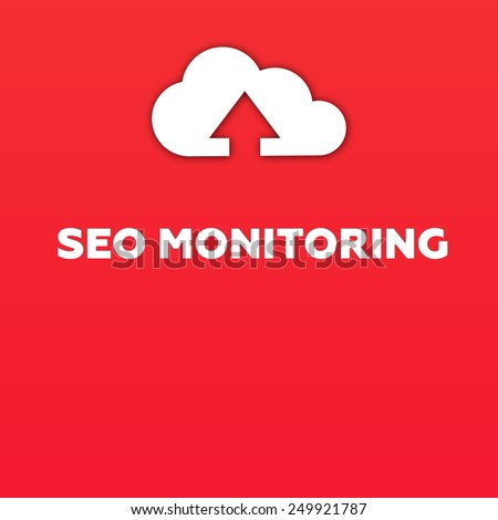 SEO MONITORING - stock photo