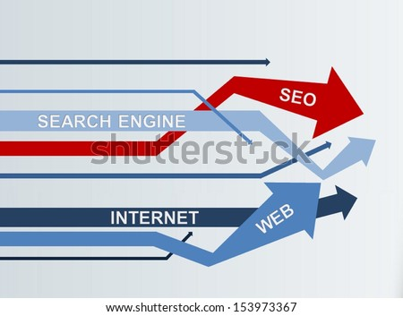 SEO - Search Engine Optimization | Concept Wallpaper - stock photo