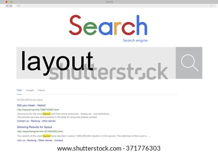 SEO Search Word Connection Internet Concept - stock photo
