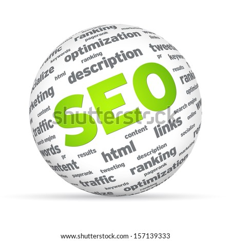 SEO Sphere - stock photo