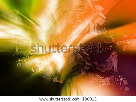 Series B - Abstract 22 - stock photo