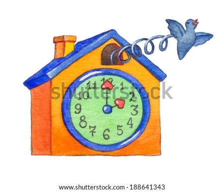 Cuckoo bird stock photos images pictures shutterstock - Colorful cuckoo clock ...