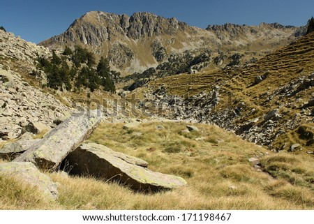 Serra de Saboredo, Spain - stock photo