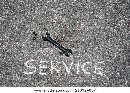 Service - stock photo