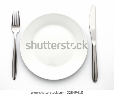 Set of kitchen object - stock photo