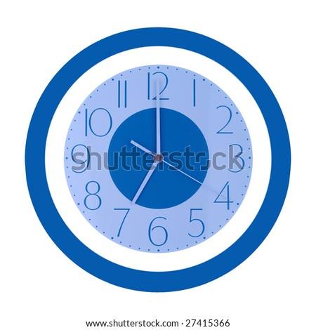 seven o'clock - stock photo
