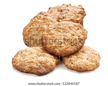 Several homemade cookies - stock photo