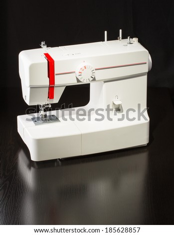Sewing equipment and accessories - stock photo