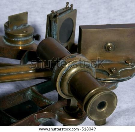 Sextant Eyepiece - stock photo