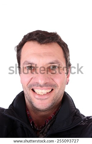 sexy casual man, fashion concept - stock photo