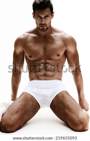 Sexy Guy - stock photo