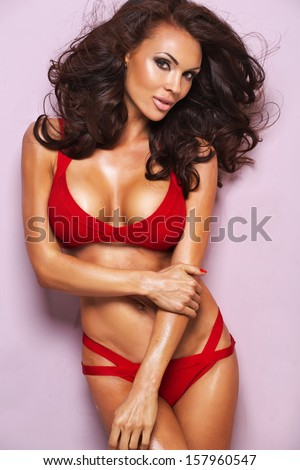 Sexy lady - stock photo