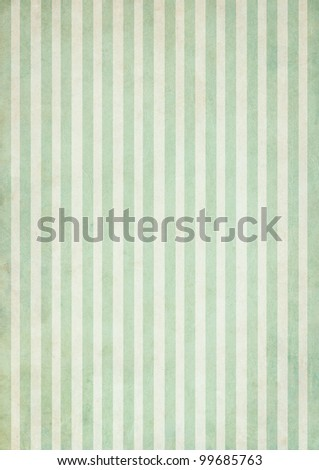 Shabby textile Background with colorful blue and white stripes - stock photo